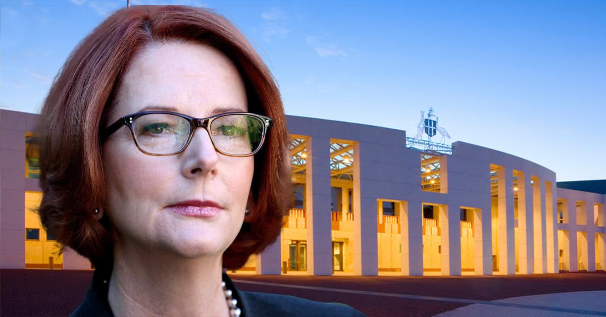 Julia Gillard Demands A Permanent End To Misogyny In Australia